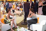 OLIVIA LUTTRELL; MIRANDA MARSHA, Veuve Clicquot Gold Cup, Cowdray Park, Midhurst. 21 July 2013
