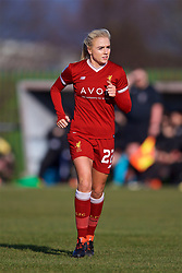 LIVERPOOL, ENGLAND - Sunday, February 4, 2018: Liverpool's Alex Greenwood during the Women's FA Cup 4th Round match between Liverpool FC Ladies and Watford FC Ladies at Walton Hall Park. (Pic by David Rawcliffe/Propaganda)