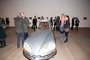 HUGO RITTSON-THOMAS; MAX WIGRAM;, Gabriel Orozco reception, Tate Modern, London. 18 January 2010. .-DO NOT ARCHIVE-© Copyright Photograph by Dafydd Jones. 248 Clapham Rd. London SW9 0PZ. Tel 0207 820 0771. www.dafjones.com.