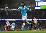 Manchester City v Sunderland 261215