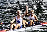 Henley Royal Regatta, Henley on Thames, ENGLAND,  1996, Silver Goblets & Nickalls' Cup..A NADER/H BAUER,, Rv Wiking Linz, AUSTRIA,  Photo: Peter Spurrier/Intersport Images.  Mob +44 7973 819 551/email images@intersport-images.com