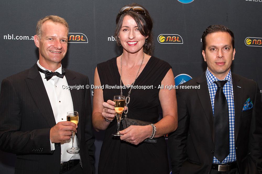 Guests at the Skycity Breakers Awards, 2013-14, Skycity Convention Centre, Auckland, New Zealand, Friday, March 28, 2014. Photo: David Rowland/Photosport