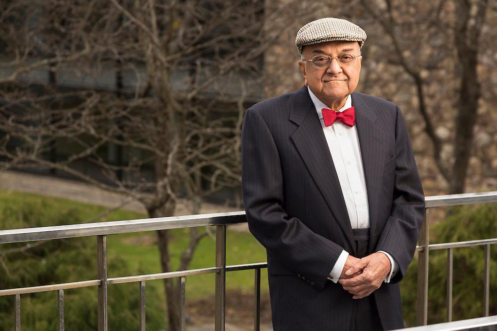 "2013 Russ Prize winner Dr. Rangaswamy ""Sri"" Srinivasan photographed at the IBM Thomas J Watson Research Center"