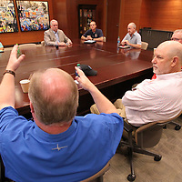 Lee County leaders gathered on Wednesday at CDF to discuss the overcrowding situation at the Lee County Jail.