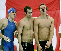 Svømming , 2. mars 2007 , NM , <br /> Norsk rekord for Kim Torry Simmenes  Alexander Dale Oen  <br />  Pål Gunnar Normann  <br /> på 4x50 meter medley