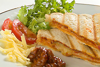 Food & Drink, toasted panini