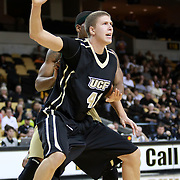 Central Florida center Tom Herzog (41) during the NCAA basketball game against the USF Bulls at the UCF Arena on November 18, 2010 in Orlando, Florida. UCF won the game 65-59. (AP Photo/Alex Menendez)