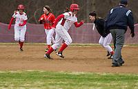 St Paul's School Softball with Kimball Union Academy Tuesday, April 23, 2013.  Karen Bobotas Photographer