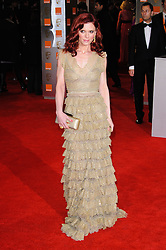 Emilia Fox arrives for the 2012 ORANGE BRITISH ACADEMY FILM AWARDS, The Bafta's at The Royal Opera House, Covent Garden, London. Photo By I-Images