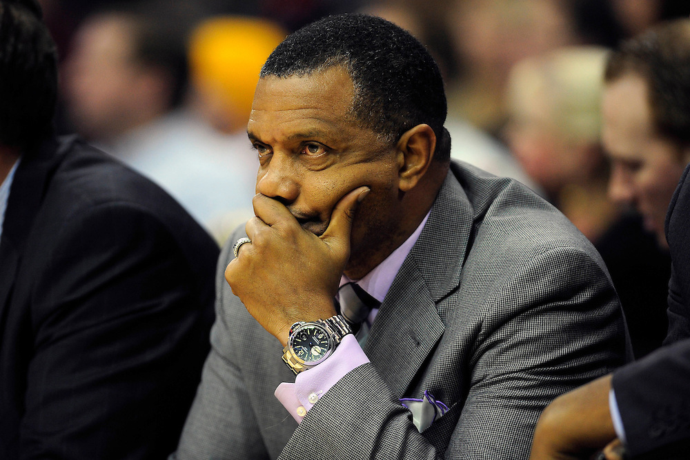 Jan. 19, 2011; Cleveland, OH, USA; Phoenix Suns head coach Alvin Gentry during the fourth quarter against the Cleveland Cavaliers at Quicken Loans Arena. The Suns beat the Cavaliers 106-98. Mandatory Credit: Jason Miller-US PRESSWIRE
