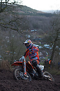 Jeffrey Herlings near the top of the hill in practice.
