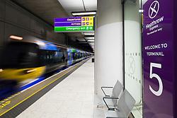 Terminal 5 Heathrow Express - Client London Heathrow Airport Ltd
