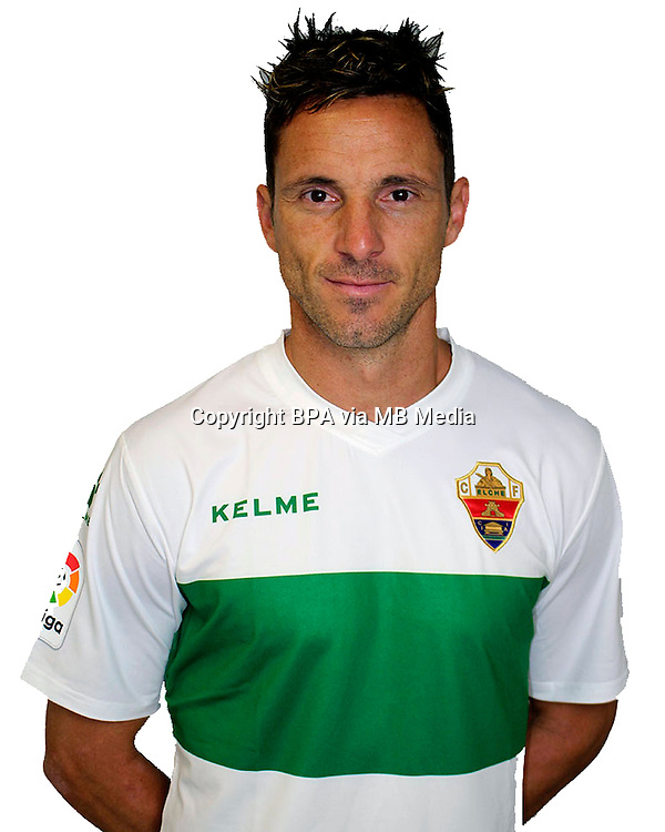 Spain - La Liga B 123 _ 2016-2017 / <br /> ( Elche C.F. ) - <br /> Jose Eduardo Albacar Gallego &quot; Edu Albacar &quot;