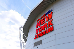 A general view of the Aesseal New York Stadium - Mandatory by-line: Ryan Crockett/JMP - 11/08/2018 - FOOTBALL - Aesseal New York Stadium - Rotherham, England - Rotherham United v Ipswich Town - Sky Bet Championship
