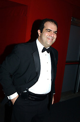 "STELIOS HAJI-LOANNOU at the 10th annual British Red Cross London Ball.  This years ball theme was Indian based - ""Yaksha - Yakshi: Doorkeepers to the Divine"" and was held at The Room, Upper Ground, London on 1st December 2004.  Proceeds from the ball will aid vital humanitarian work, including HIV/AIDS projects that the Red Cross supports in the UK and overseas.<br />