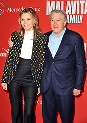 Actor Robert de Niro with Michelle Pfeiffer attends the 'Malavita - The Family' Germany premiere at Kino in der Kulturbrauerei, Berlin, Germany on October 15, 2013. Picture by Schneider- Press / i-Images<br /> UK & USA ONLY