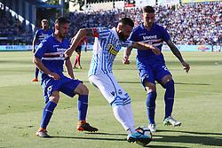 """Foto LaPresse/Filippo Rubin<br /> 20/05/2018 Ferrara (Italia)<br /> Sport Calcio<br /> Spal - Sampdoria - Campionato di calcio Serie A 2017/2018 - Stadio """"Paolo Mazza""""<br /> Nella foto: MIRCO ANTENUCCI (SPAL)<br /> <br /> Photo LaPresse/Filippo Rubin<br /> May 20, 2018 Ferrara (Italy)<br /> Sport Soccer<br /> Spal vs Sampdoria - Italian Football Championship League A 2017/2018 - """"Paolo Mazza"""" Stadium <br /> In the pic: MIRCO ANTENUCCI (SPAL)"""