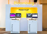 Bloomberg terminals on display at Bloomberg Forum 'Green Evolution: China and the Global New Energy Race', at USA Pavilion, in Shanghai World Expo 2010, China, on October 21, 2010. Photo by Lucas Schifres/Pictobank