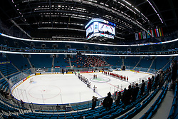 A general view of arean during ice hockey match between Hungary and Korea at IIHF World Championship DIV. I Group A Kazakhstan 2019, on April 29, 2019 in Barys Arena, Nur-Sultan, Kazakhstan. Photo by Matic Klansek Velej / Sportida