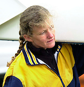Hazenwinkel, Belgium. British Inaternational Rowing Senior trials.  Helen MANGAN. 11.04.2001 Photo: Peter Spurrier. [Mandatory Credit; Peter Spurrier/Intersport Images] 200104  GB Rowing Senior Trails, Hazewinkel BELGIUM