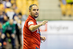 Branko Tamse, head coach of RK Celje pivovarna Lasko during handball match between RK Celje Pivovarna Lasko and SG Flensburg Handewitt in VELUX EHF Champions League, on November 26, 2017 in Dvorana Zlatorog, Celje Slovenia. Photo by Ziga Zupan / Sportida