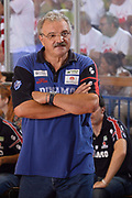 DESCRIZIONE : Reggio Emilia Lega A 2014-15 Grissin Bon Reggio Emilia - Banco di Sardegna Sassari playoff finale gara 2 <br /> GIOCATORE :Sacchetti Meo<br /> CATEGORIA : Allenatore Coach Mani <br /> SQUADRA : Banco di Sardegna Sassari<br /> EVENTO : LegaBasket Serie A Beko 2014/2015<br /> GARA : Grissin Bon Reggio Emilia - Banco di Sardegna Sassari playoff finale gara 2<br /> DATA : 16/06/2015 <br /> SPORT : Pallacanestro <br /> AUTORE : Agenzia Ciamillo-Castoria / Richard Morgano<br /> Galleria : Lega Basket A 2014-2015 Fotonotizia : Reggio Emilia Lega A 2014-15 Grissin Bon Reggio Emilia - Banco di Sardegna Sassari playoff finale gara 2 Predefinita :