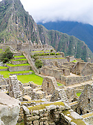 The Incan ruins of Machu Picchu, near Aguas Calientes, Peru.