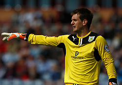 Burnley's Thomas Heaton-Photo mandatory by-line: Matt Bunn/JMP - Tel: Mobile: 07966 386802 17/08/2013 - SPORT - FOOTBALL - Turf Moor - Burnley -  Burnley V Yeovil Town - Sky Bet Championship