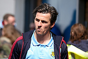 Burnley midfielder Joey Barton (13)  during the Sky Bet Championship match between Burnley and Queens Park Rangers at Turf Moor, Burnley, England on 2 May 2016. Photo by Simon Davies.