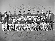 All-Ireland Senior Hurling Final, Cork v Galway, at Croke Park..Cork 3-3 | Galway 0-8.Cork Team.06.09.1953