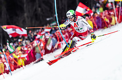 "29.01.2019, Planai, Schladming, AUT, FIS Weltcup Ski Alpin, Slalom, Herren, 1. Lauf, im Bild Marc Digruber (AUT) // Marc Digruber of Austria in action during his 1st run of men's Slalom ""the Nightrace"" of FIS ski alpine world cup at the Planai in Schladming, Austria on 2019/01/29. EXPA Pictures © 2019, PhotoCredit: EXPA/ JFK"