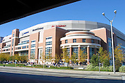 Exterior of the Dome at America's Center in St. Louis, MO, home of the St. Louis Rams on game day against the New York Giants on 10/14/2001..©Wesley Hitt/NFL Photos