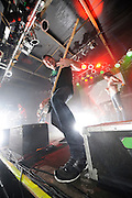 Metalcore band Underoath performing at Pop's in Sauget, IL on November 2, 2008.