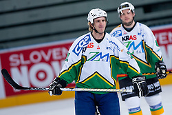 Jaka Avgustincic during ice-hockey friendly match between legends of HDD Tilia Olimpija and HK Acroni Jesenice, on April 14, 2012 at SRC Stozice, Ljubljana, Slovenia. (Photo By Matic Klansek Velej / Sportida.com)