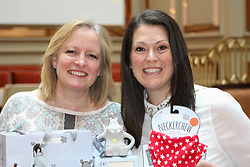 Two Edinburgh women Julie Wilson (left) and Amy Livingstone who run Cheeky Chompers, a baby products firm, are among 10 Scots recipients of the Queens' Awards for Enterprise EMBARGOED 00.01 21042018 FILE PIC taken 11022016 by Terry Murden @edinburghelitemedia