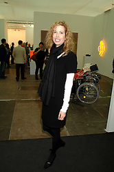 DIANDRA LUKER first wife of actor Michael Douglas at the opening of Frieze Art Fair 2007 held in regent's Park, London on 10th October 2007.<br />