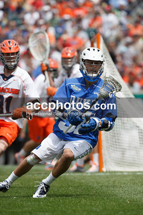 2013 May 27: Jordan Wolf #31 of the Duke Blue Devils during a 16-10 win over the Syracuse Orange to win the NCAA national championship at Lincoln Financial Field in Philadelphia, PA.