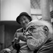 PORTRAITS / RETRATOS<br /> <br /> Mariano Díaz y su esposa Uvi<br /> Diseñador - Fotografo (Chileno - Venezolano)<br /> Caracas - Venezuela 2000<br /> <br /> (Copyright © Aaron Sosa
