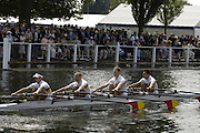 2006 Henley Royal Regatta. Henley-on-Thames, ENGLAND,   29/06/2006. . Men's Quadruple Sculls. Tideway Scullers School TSS. [Photo  Peter Spurrier/Intersport Images.] Henley Royal Regatta, Rowing Courses, Henley Reach, Henley, ENGLAND [Mandatory credit; Peter Spurrier/Intersport Images] 2006 . HRR.