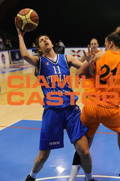 DESCRIZIONE : Pomezia Nazionale Italia Donne Torneo Citt&agrave; di Pomezia Italia Olanda<br /> GIOCATORE : alessandra formica<br /> CATEGORIA : tiro<br /> SQUADRA : Italia Nazionale Donne Femminile<br /> EVENTO : Torneo Citt&agrave; di Pomezia<br /> GARA : Italia Olanda<br /> DATA : 26/05/2012 <br /> SPORT : Pallacanestro<br /> AUTORE : Agenzia Ciamillo-Castoria/GiulioCiamillo<br /> Galleria : FIP Nazionali 2012<br /> Fotonotizia : Pomezia Nazionale Italia Donne Torneo Citt&agrave; di Pomezia Italia Olanda