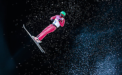 Li Nina of China in action during the Women's Aerials Final at the Sochi 2014 Olympic Games, Krasnaya Polyana, Russia, 15 February 2014.