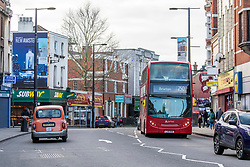© Licensed to London News Pictures. 04/02/2020. London, UK. Streatham High Street reopens after a knife-wielding terror suspect in a suicide vest was shot dead by undercover police on Sunday 01 February 2020 after stabbing two people in the street. Ministers are trying to bring in legislation to stop extremists being freed early from prison unless agreed by a Parole Board. Photo credit: Alex Lentati/LNP