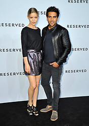 Image ©Licensed to i-Images Picture Agency. 10/07/2014. Berlin, Germany . Georgia May Jagger and Elyas M'Barek attends the Reserved - Let's Fashion Party at the Mercedes-Benz Fashion Week Spring/Summer 2015 at Alte Muenze. Picture by  Schneider-Press / i-Images<br /> UK & USA ONLY