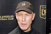 Apr 4, 2018; Los Angeles, CA, USA; LAFC coach Bob Bradley speaks at the grand opening of the LAFC Performance Center on the campus of Cal State LA. The 30,000 square foot and $30 million facility will serve as home of the LAFC players, staff, coaches and academy.