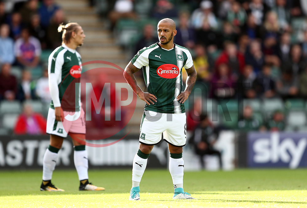 Lionel Ainsworth of Plymouth Argyle - Mandatory by-line: Gary Day/JMP - 21/07/2017 - FOOTBALL - Home Park - Plymouth, England - Plymouth Argyle v Cardiff City - Pre-season friendly