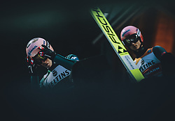17.01.2020, Hochfirstschanze, Titisee Neustadt, GER, FIS Weltcup Ski Sprung, im Bild v.l.: Stefan Kraft (AUT), Karl Geiger (GER) // f.l.: Stefan Kraft of Austria Karl Geiger of Germany during the FIS Ski Jumping World Cup at the Hochfirstschanze in Titisee Neustadt, Germany on 2020/01/17. EXPA Pictures © 2020, PhotoCredit: EXPA/ JFK