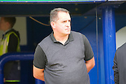 Barnet manager Martin Allen  during the EFL Sky Bet League 2 match between Portsmouth and Barnet at Fratton Park, Portsmouth, England on 24 September 2016. Photo by Ian  Muir. during the EFL Sky Bet League 2 match between Portsmouth and Barnet at Fratton Park, Portsmouth, England on 24 September 2016. Photo by Ian  Muir.