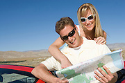 Couple Looking at Road Map