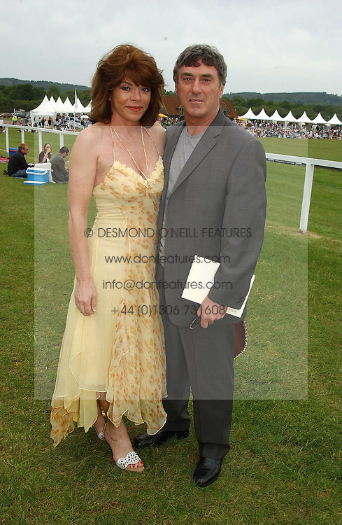 Actor BILLLY MURRAY and his wife ELAINE MURRAY at the Kuoni World Class Polo Day held at Hurtwood Park Polo Club, Surrey on 29th May 2005.<br /><br />NON EXCLUSIVE - WORLD RIGHTS