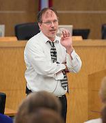 Dan Gohl comments during a Principal meeting, June 11, 2014.